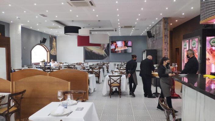 Restaurante Italiano Al Dente Rivas Salones
