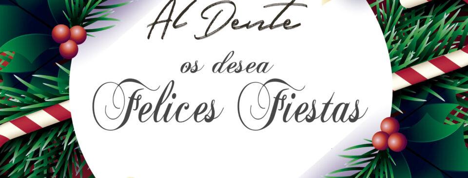 Felices Fiestas desde Restaurante Italiano Al Dente en Rivas 2